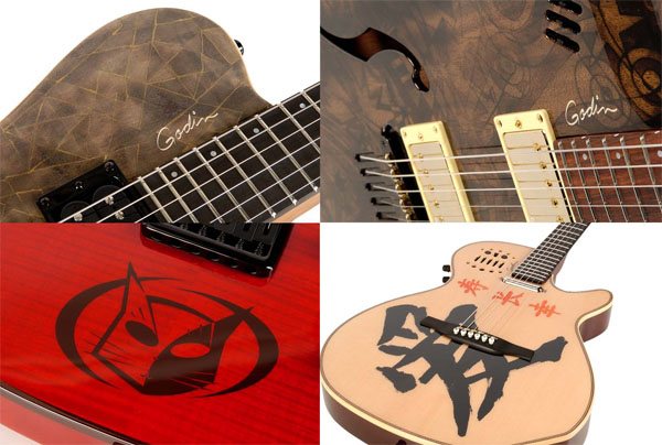 Godin Guitars & SIMM Turn Guitars Into Works of Art for a Good Cause