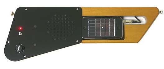 Make your iPhone a guitar (almost)
