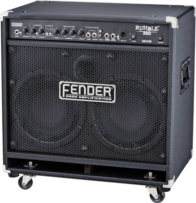 FENDER® BASS AMPLIFICATION INTRODUCES  ALL-NEW RUMBLE™ SERIES COMBO AMPS