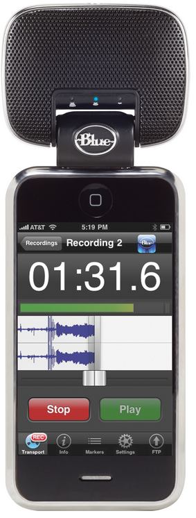 Blue Announces Second Generation Mikey Portable Recorder  for iPhone and iPod