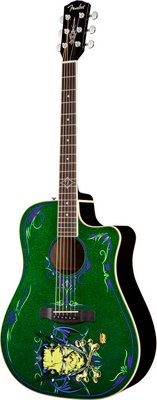 "NEW ""DIRTY DONNY FRANKEN-BUCKET"" & T-BUCKET 400CE ACOUSTIC GUITARS"