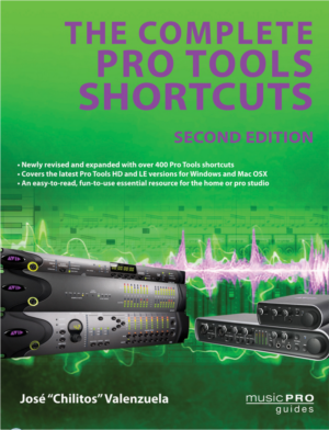 Hal Leonard Announces Pro Tools Shortcuts