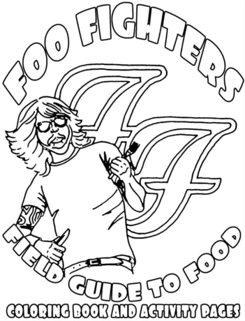Foo Righters Tour Rider is good coloring fun
