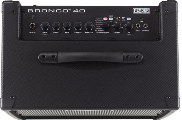 FENDER® INTRODUCES NEW BRONCO™ 40 BASS AMPLIFIER