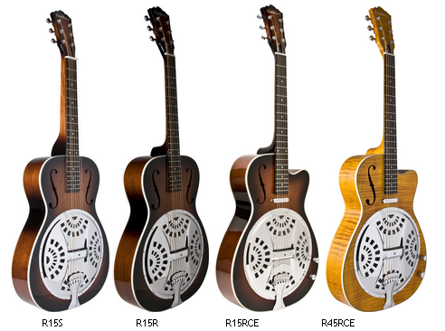 Washburn Unveils New Resonator Series