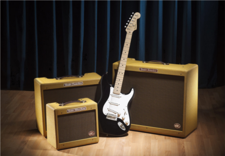 "FENDER® MUSICAL INSTRUMENTS INTRODUCES ""EC SERIES""  ERIC CLAPTON SIGNATURE AMPLIFIERS"