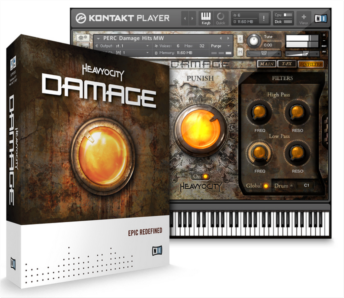 DAMAGE by Heavyocity now available in stores worldwide