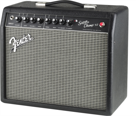 FENDER® INTRODUCES NEW SUPER CHAMP® AMP, HEAD AND ENCLOSURE