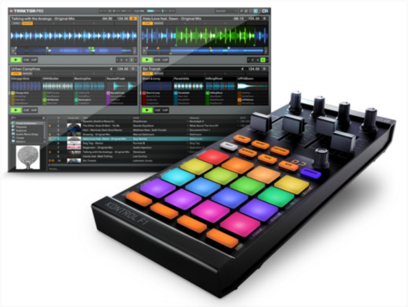 Native Instruments Announces TRAKTOR KONTROL F1 and TRAKTOR PRO 2.5
